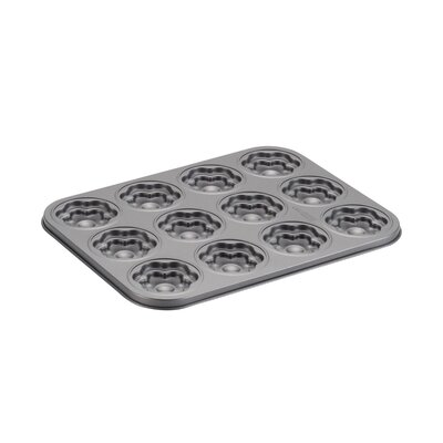 12 Cup Flower Molded Cookie Pan 59407