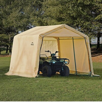 Shelter Logic 10' x 10' x 8' Peak Style Storage Shed - Color: Tan at Sears.com