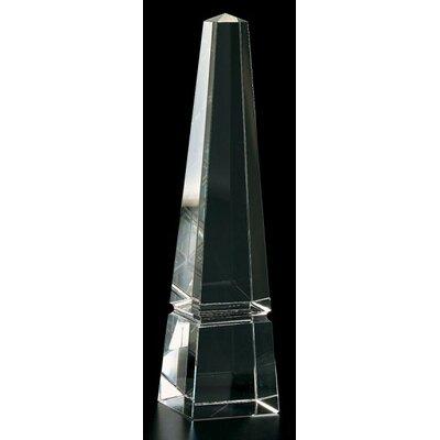 """Obelisk Sculpture Size: 12"""" H X 2.5"""" W X 2.5"""" D"""