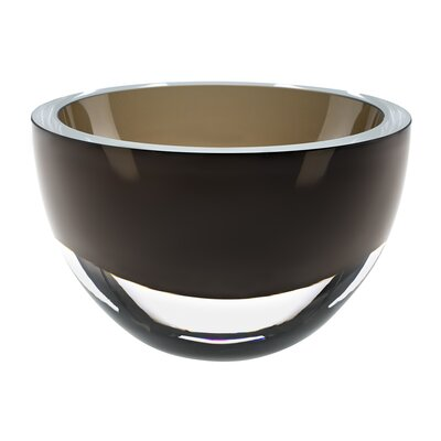 Penelope European Mouth Blown Smoke Decorative Bowl