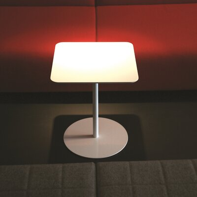 Noa End Table Finish: White
