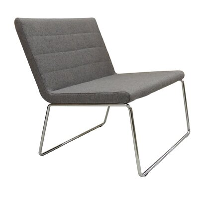 Flu Camira Wool Lounge Chair