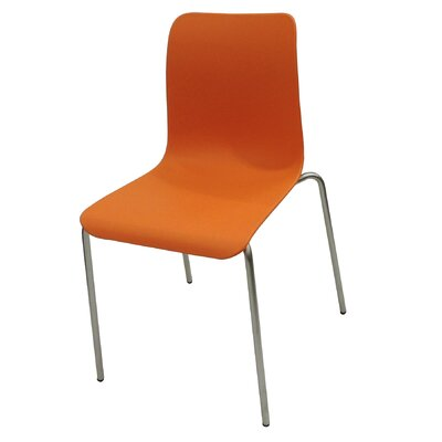 Leo Side Chair Finish: Orange