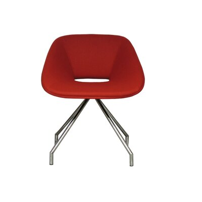 Red Swivel Camira Wool Side Chair Product Picture 6173