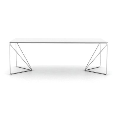 Absolut Dining Table Top Finish: White