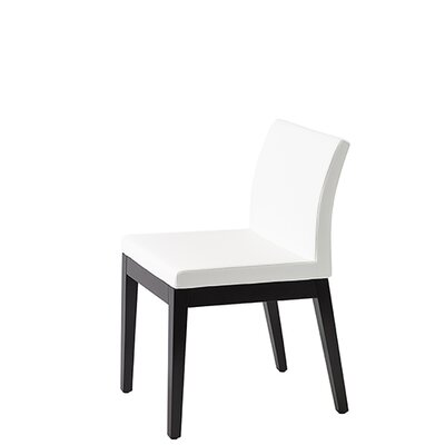 Paria Side Chair Upholstery: White