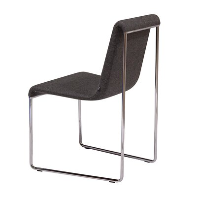 Slender Wool Side Chair