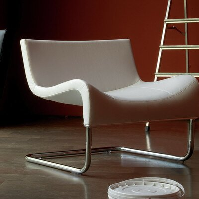 Eco Leather Lounge Chair Product Photo