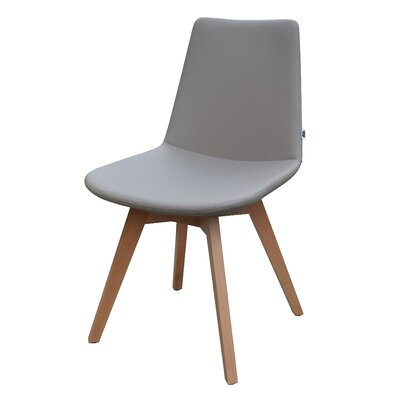 Pera Wood Chair Upholstery: Taupe