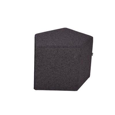 Flex Pouf Upholstery: Dark Grey
