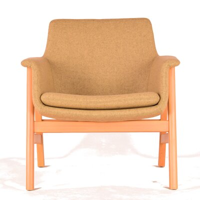 To be Lounge Chair Upholstery: Straw