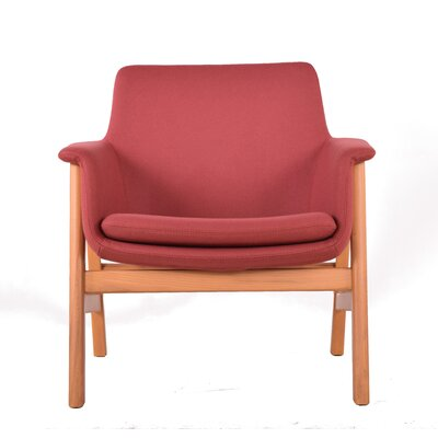 To be Lounge Chair Upholstery: Rose