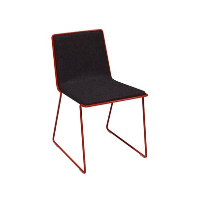 Bleecker Side Chair Upholstery: Dark Grey