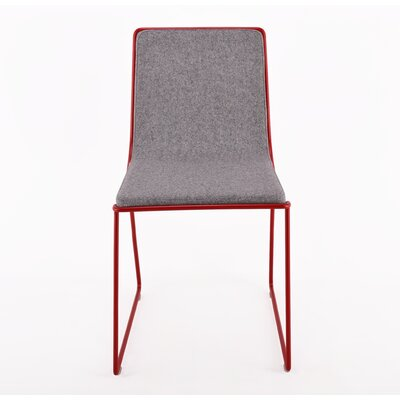 Bleecker Side Chair Upholstery: Light Grey