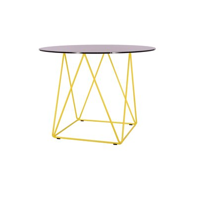 Ray Dining Table Base Finish: Yellow
