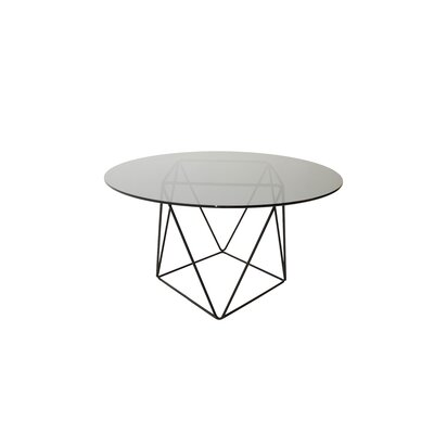 Ray Dining Table Base Finish: Black