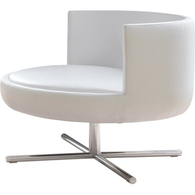 Eco Leather Lounge Chair Round Product Picture 757