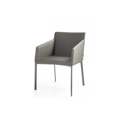 Noble Arm Chair Color: Anthracite