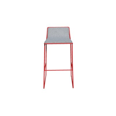 Bleecker 29 Bar Stool Upholstery: Gray Pure Wool