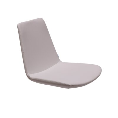 Pera Side Chair Upholstery Type - Color: Faux Leather - White