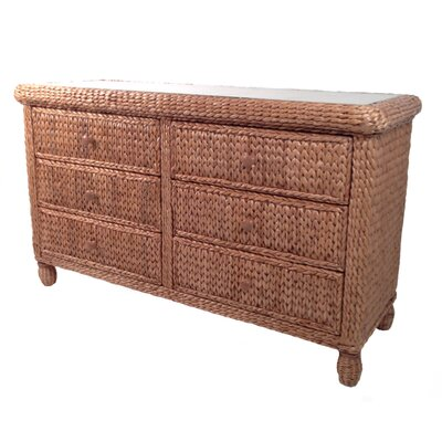 Miramar 6 Drawer Dresser