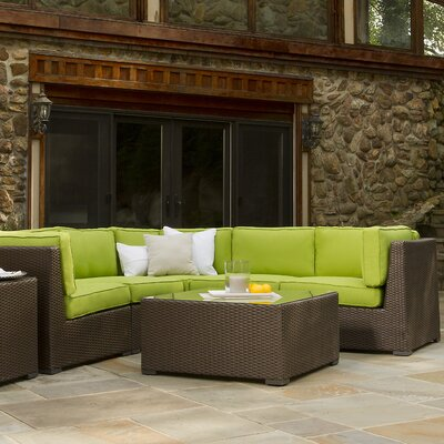 Sonoma Sectional Color: Sunbrella Macaw