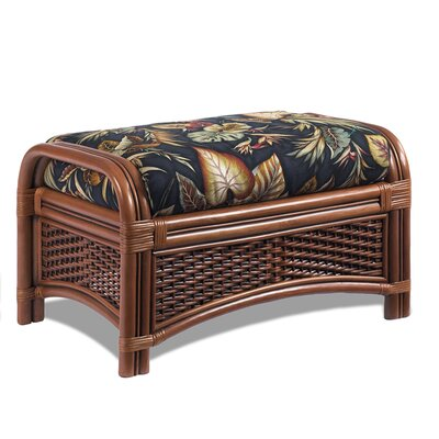 Tigre Bay Ottoman Upholstery: Kabana Black