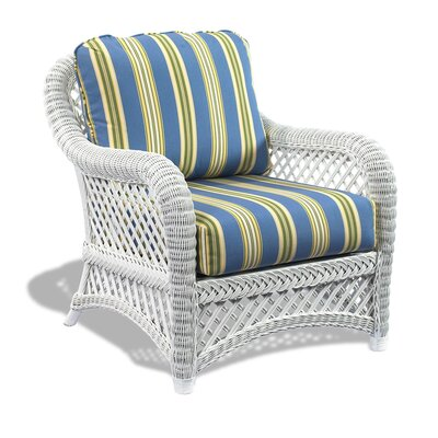 Lanai Arm Chair Color: Brannon Whisper