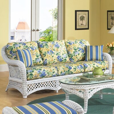 Lanai Sofa Color: Spectrum Eggshell