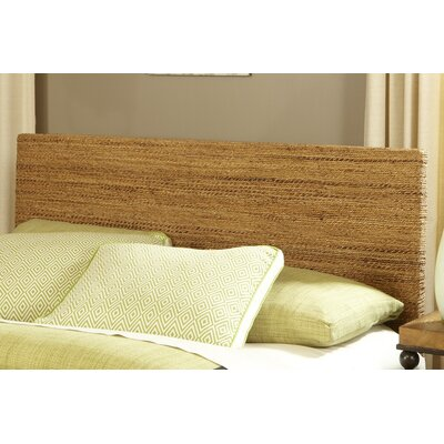 Abaca Panel Headboard Size: King
