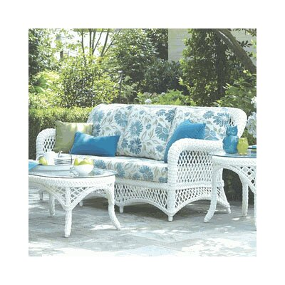Savannah Sofa with Cushions Fabric: Navy
