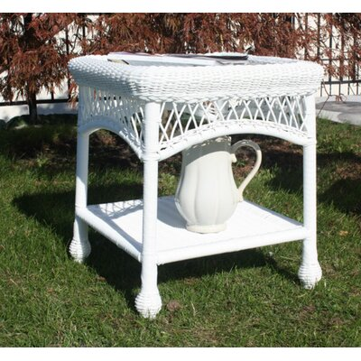 Camacho Side Table Finish: White