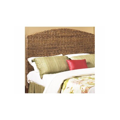 St. Thomas Seagrass Panel Headboard Size: Queen