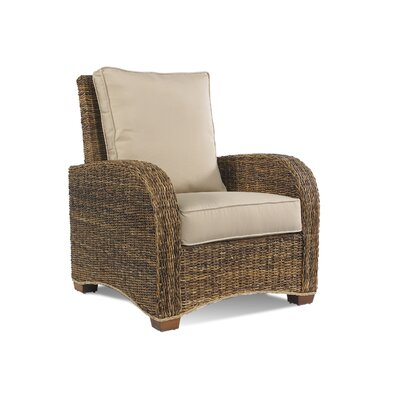 St. Kitts Armchair Upholstery: Bahamian Breeze Coal