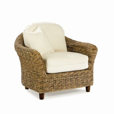 Tangiers Armchair Color: Bahamian Breeze Cinnamon