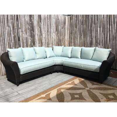 Choose Wicker Sectional Product Photo