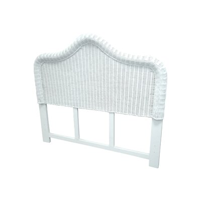 Watkins Panel Headboard Size: Full, Color: White