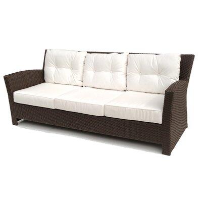 ElanaMar Designs Sonoma Sofa with Cushions - Fabric: Sunbrella Natural at Sears.com