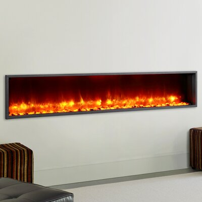 Dynasty Dy Bt79 79 Built In Led Wall Mount Electric Fireplace Insert