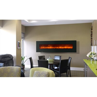 Saving On Wall Mount Electric Fireplace Size H X W X 6 5 D Reviews