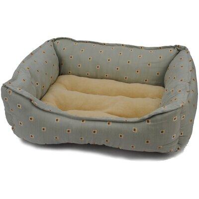 Home D cor Bolster Dog Bed Color: Sage