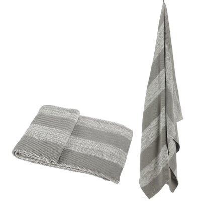 Cotton Throw Color: Gray