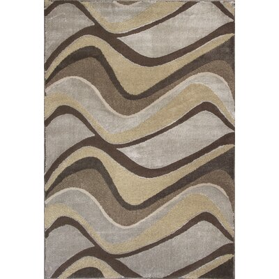 Timeless Metallic Visions Area Rug Rug Size: Rectangle 33 x 411