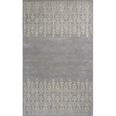 Harmony Hand-Woven Wool Gray Area Rug Rug Size: Rectangle 9 x 13