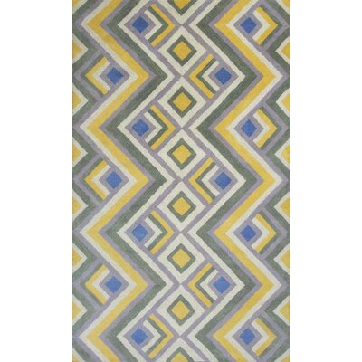 Harmony Gold/Lilac Area Rug Rug Size: Rectangle 8 x 106