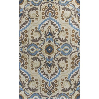 Harmony Sand Tapestry Area Rug Rug Size: Rectangle 33 x 53