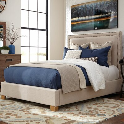 Madeleine Upholstered Planel Bed Size: King