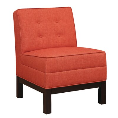 Slipper Chair Finish: Persimmon