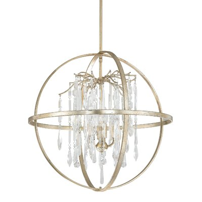 Carrington 4-Light Foyer Pendant