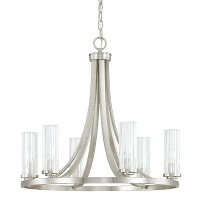 Emery 6-Light Candle-Style Chandelier